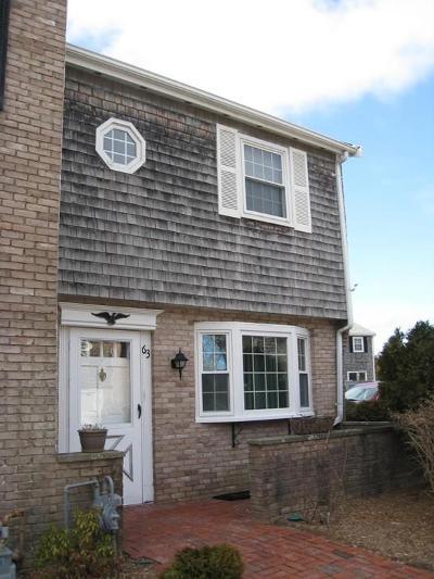 Barnstable Condo/Townhouse For Sale: 63 Captain Cook Ln #63