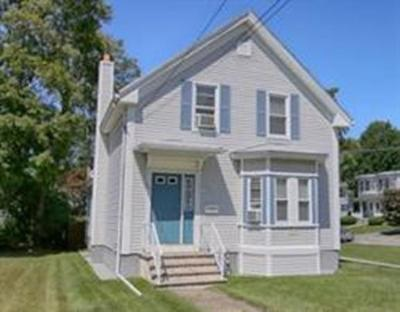 Taunton Single Family Home For Sale: 541 Cohannet Street