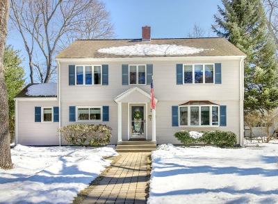 Waltham Single Family Home Under Agreement: 30 Hillcroft Rd