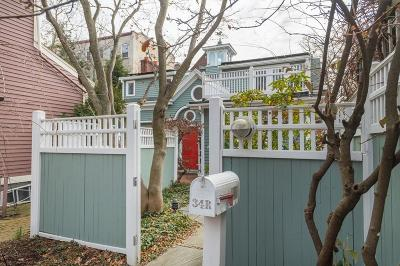 Cambridge MA Single Family Home Under Agreement: $1,285,000