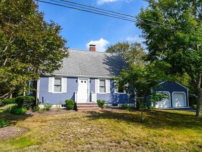 East Bridgewater Single Family Home Under Agreement: 459 Cedar St
