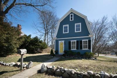 Cohasset Single Family Home Under Agreement: 186 Pond St