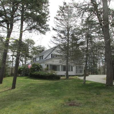 Falmouth Single Family Home Contingent: 198 Carriage Shop Rd