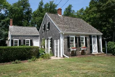 Barnstable Single Family Home Contingent: 1579 Hyannis Road