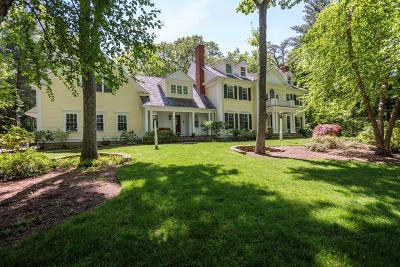 Wellesley Single Family Home For Sale: 190 Winding River Road