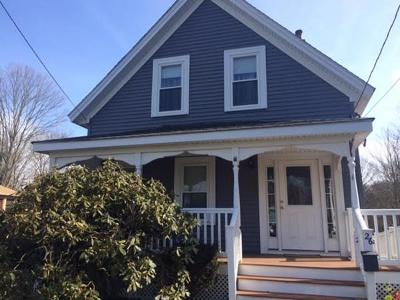 Foxboro Single Family Home Contingent: 26 Leonard St