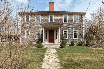 Duxbury Single Family Home For Sale: 597 Temple St