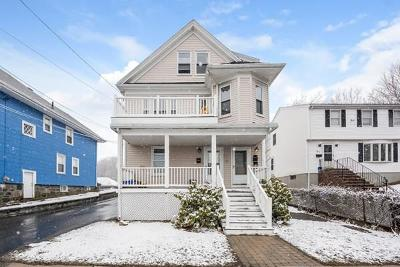 Malden Multi Family Home Under Agreement: 101 Wallace St.