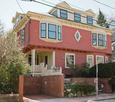 Cambridge MA Single Family Home Under Agreement: $1,995,000