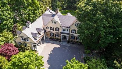 Wellesley MA Single Family Home For Sale: $5,550,000