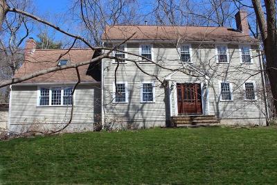 Hingham Single Family Home Under Agreement: 155 Leavitt Street