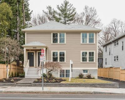 Cambridge, Somerville Condo/Townhouse For Sale: 368 Concord Avenue #1