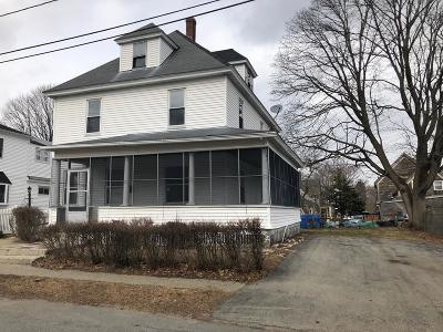 Lowell Single Family Home For Sale: 21 Orchard St