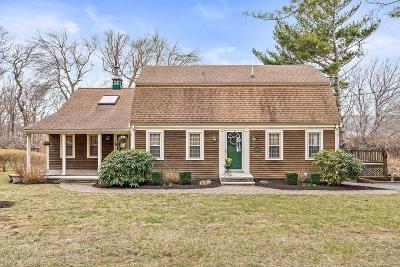 Marshfield Single Family Home Under Agreement: 14 Winthrop Drive