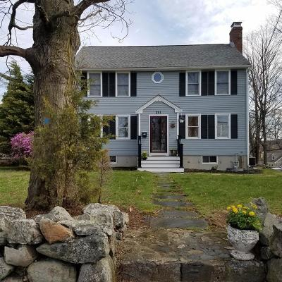 Waltham Single Family Home For Sale: 251 Trapelo Road