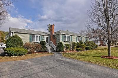 Framingham Single Family Home Under Agreement: 103 Edgell Drive