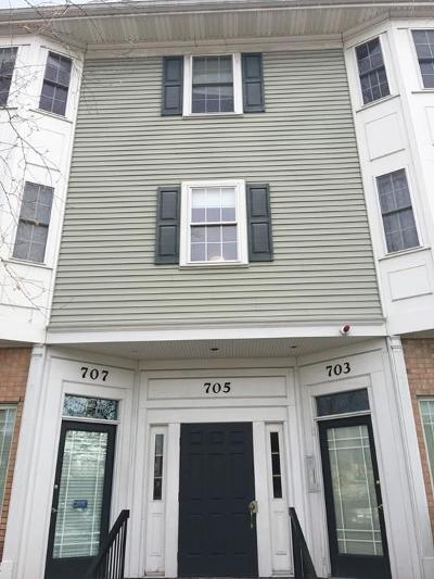 Canton Condo/Townhouse Under Agreement: 705 Washington #E