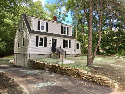 Hanover Single Family Home Under Agreement: 875 Webster Street