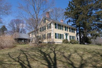 Sherborn Single Family Home For Sale: 91 N. Main Street
