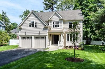 Wellesley Single Family Home For Sale: 19 Garrison