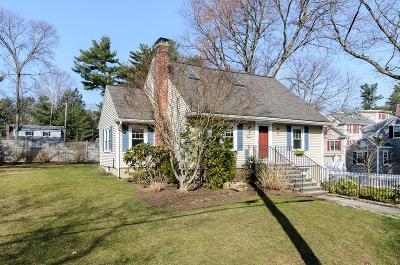 Wellesley Single Family Home For Sale: 42 Overbrook Dr