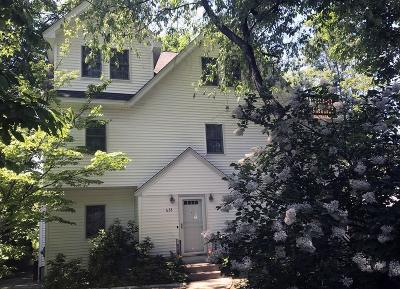Brookline Single Family Home For Sale: 633 Chestnut Hill Ave