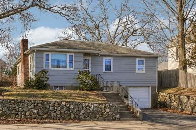 Woburn Single Family Home Under Agreement: 170 Winn St