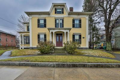 Lowell Single Family Home Contingent: 42 Highland St
