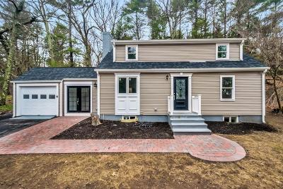 Wayland Single Family Home For Sale: 146 Concord Road