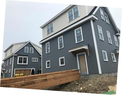 Quincy Condo/Townhouse For Sale: 27 Mill Street #G