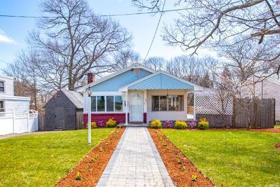 Quincy Single Family Home Under Agreement: 24 Spaulding St