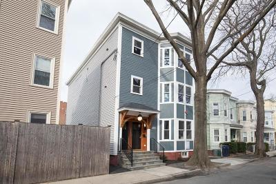 Cambridge Condo/Townhouse Under Agreement: 23 Palermo St #3