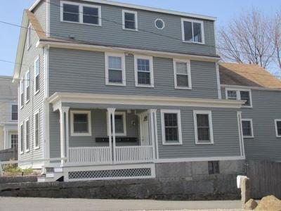 Rockport Condo/Townhouse Back On Market: 4 Pleasant St #1