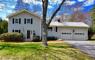 Framingham Single Family Home Under Agreement: 14 Old Wood Rd
