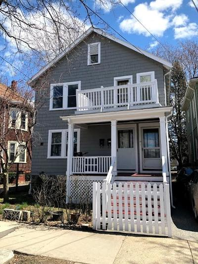 Somerville Multi Family Home For Sale: 56 Cameron Ave
