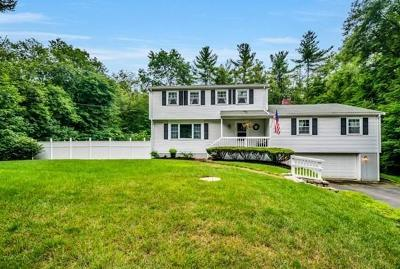 West Bridgewater Single Family Home Under Agreement: 24 Milebrook Rd
