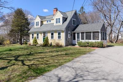 Scituate Single Family Home For Sale: 95 Mann Hill Rd
