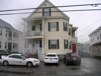 Lowell Multi Family Home For Sale: 476 Wilder Street