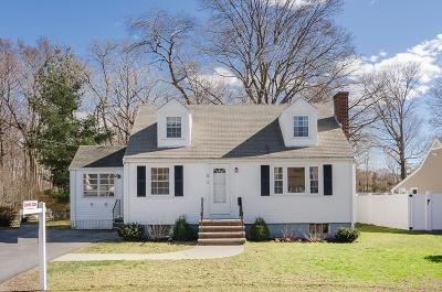 MA-Norfolk County, MA-Plymouth County Single Family Home New: 21 Moreland Rd