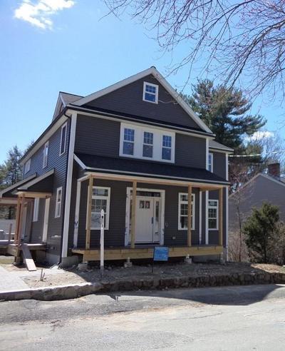 Natick Single Family Home New: 39 Oxford Street