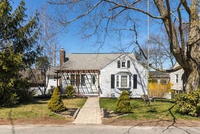 Westwood Single Family Home Under Agreement: 6 Lull Street