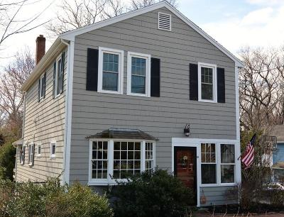 Hingham Single Family Home Under Agreement: 51 Volusia Rd
