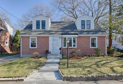 Quincy Single Family Home For Sale: 63 Woodcliff Rd