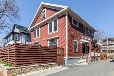 Cambridge Single Family Home For Sale: 41-43 Dover Street