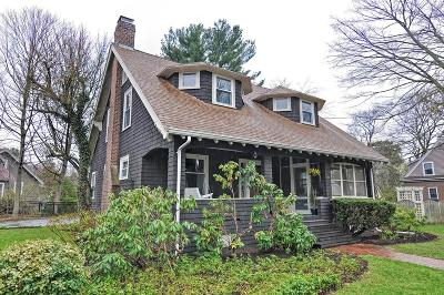 Needham Single Family Home Under Agreement: 36 Marked Tree Rd