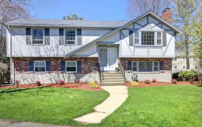 Needham Single Family Home Under Agreement: 85 Brewster Dr