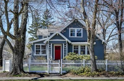 Needham Single Family Home Under Agreement: 711 Webster St