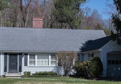 Wellesley Single Family Home Under Agreement: 40 Carver Road