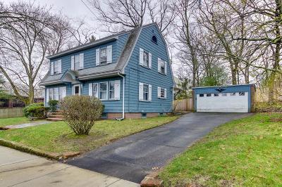 Arlington MA Single Family Home Under Agreement: $789,000