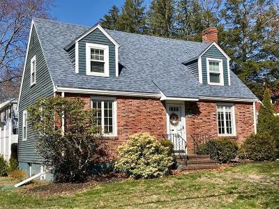 Waltham Single Family Home Under Agreement: 79 Cedarwood Avenue